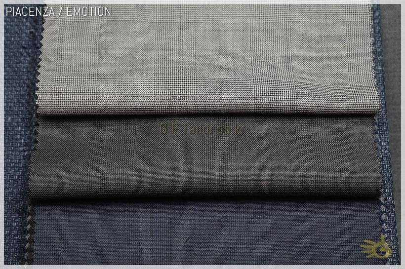PIACENZA EMOTION [ 220/240 gr ] 100% Super 150's wool