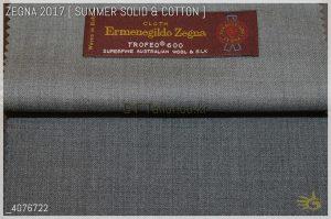 Ermenegildo Zegna Trofeo 600 [ 190 g/mt - oz 8 ] 85% Wool / 15% Silk