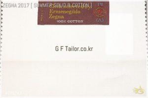 Ermenegildo Zegna Cotton [ 230/240 g/mt - oz 8 ] 100% Cotton