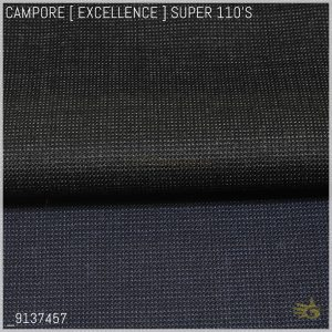 Campore Excellence [ 260-280 g/mt ] 100% SUPER 110'S Wool