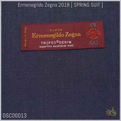 Ermenegildo Zegna Trofeo Denim [ 280~290 g/mt - oz 9 ] 100% Superfine Australian Wool